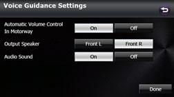 Voice Guidance Setting / AVN827GA Online Manual / ECLIPSE