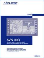 avn30d owner\u0027s manual