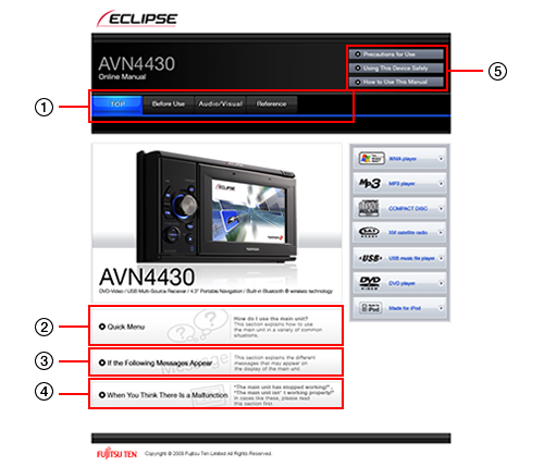 how to use this manual avn4430 online manual eclipse rh eclipse web com Eclipse AVN2454 Eclipse AVN5510